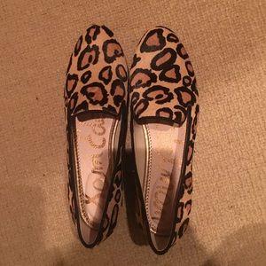 New Leopard Print Sam Edelman Loafers